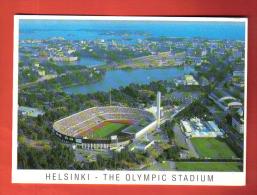 FODI-09 Helsinki The Olympic Stadium  Football Calcio Fussball Soccer  Circulé Sous Enveloppe... - Finlande