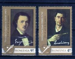 RUMANIA / ROMANIA / ROUMANIE  Año 2013     Usada    Artistas - 1948-.... Repúblicas