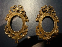 SMALL ARTISTIC BRASS FRAMES - Unclassified