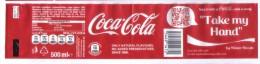 COCA COLA BOTTLE LABEL FROM MALTA - Coca-Cola