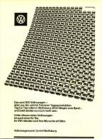 Original-Werbung/Inserat/ Anzeige 1960 - VOLKSWAGEN / MOTIV 300 VW KÄFER  - Ca. 220 X 160 Mm - Publicités