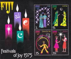 Fiji 1975 Christmas Souvenir Sheet MNH - Fiji (1970-...)