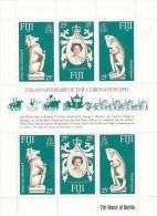 Fiji 1978 Coronation Sheetlet  MNH - Fiji (1970-...)