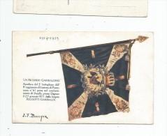 Cp , Militaria , Bandiera Del 2° Battaglione Dell´ 8° Reggimento  Di Fanteria Di Pomerania N° 61 - Régiments