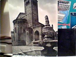 PIACENZA  CASTELL'ARQUATO LA COLLEGIATA VB1961 ANNULLO TARGHETTA FIAT 1300 EM8976