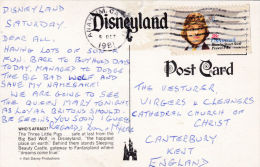 DISNEYLAND CARD - THREE LITTLE PIGS - Disneyland
