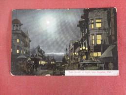 California> Los Angeles  Main Street at Night l ref 1499