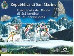 FRSP057 - S. MARINO - SPORT INVERNALI 2003 - Inverno