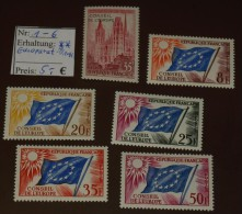 France  Europa   Michel Nr:  1 -6  ** MNH Postfrisch    #4037 - Non Classés