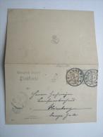 1907, ERLANGEN    , Klarer Stempel Auf Karte - Bavaria