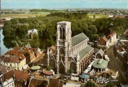 WAMBRECHIES-VUE AERIENNE-FOIRE-TIR AU FUSIL-MANEGE-FETE FORAINE - Lille