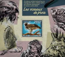 ca14223b Central African 2014 Birds of prey s/s Owl