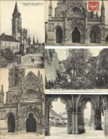 LOT DE 32 CARTES POSTALES ANCIENNES DE SAINT PIERRE SOUS VEZELAY (YONNE). - Autres Communes