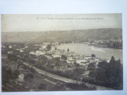 CONDRIEUX  (Rhône)  :  Quartier De La Maladière Et Le  Rhône. - Cours-la-Ville
