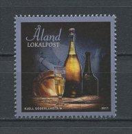 ALAND 2011 N° 348 ** Neuf = MNH Superbe Cote 2,00 € Gastronomie Champagne Cuisine - Aland