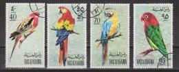 Ras Al Khaima Used ;  Papegaai, Perroquet, Perruche, Parrakeet, Parots, Papagayo, Cotorra, - Papegaaien, Parkieten
