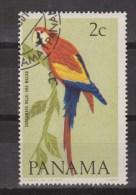 Panama Used ;  Papegaai, Perroquet, Perruche, Parrakeet, Parots, Papagayo, Cotorra, 1967 - Papegaaien, Parkieten