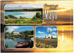 Greetings from  Mayo Ireland  - Co. Mayo  - Ireland / Eire