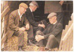 Farmers - 'Taking it easy'  - Co. Mayo  - Ireland / Eire