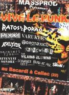 VIVE LE PUNK 2009 - DVD - MASS PROD - ATTENTAT SONORE - AGROTOXICO - RATOS DE PORAO - VARUKERS - HEYOKA - Musik-DVD's