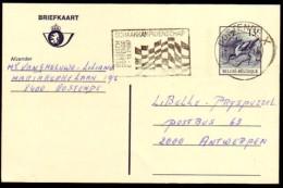 Schaken Schach Chess Ajedrez échecs - Belgie Oostende 1987 - Type 3 - Echecs