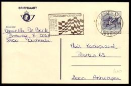 Schaken Schach Chess ajedrez �checs - Belgie Oostende 1987 - type 1