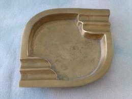 = Cendrier Métal Bronze, Made In India, Voir Description - Metall