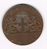 ¨¨  GEMEENTE  ZWOLLE  OPENING STADHUIS 15 MEI  1976 - Elongated Coins