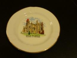 = Cendrier Souvenir RDO. De Valladolid, Iglesia La Antigüa - Porcelain