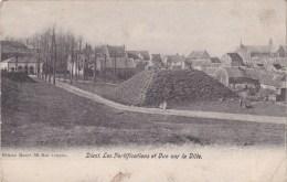 Diest - Les Fortifications Et Vue Sur La Ville - Diest