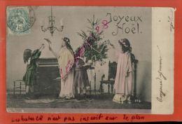 CPA FANTAISIES  Joyeux  NOËL  En 1904  ,   Sept 2014 Div 125 - Christmas