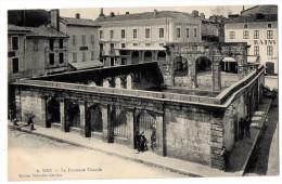 CP, 40, DAX, La Fontaine Chaude, Voyagé En 1910 - Dax
