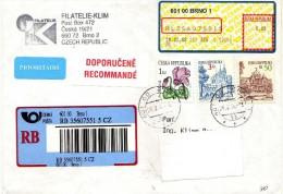 Czech Republic > 2000-09> Covers & Documents,Cover Via Macedonia,2008,nice Stamp - Czech Republic