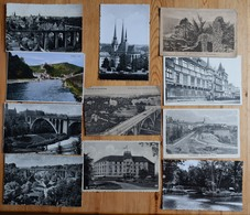 Luxembourg - Lot De 36 CP : 17 CPA + 19 CPSM  : Vianden - Clervaux - Mondorf - Bettembourg - Mullerthal Etc. - Cartes Postales