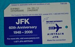 Metrocard - JFK Airport 2008 - Subway