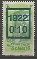 COTE DES SOMALIS   N� 101 NEUF** LUXE / MNH
