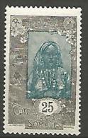 COTE DES SOMALIS   N� 105 NEUF** LUXE / MNH