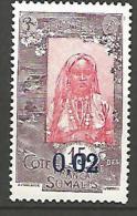 COTE DES SOMALIS YVERT  N� 109 / MAURY N� 109a PAPIER COUCHE NEUF** TTB / MNH