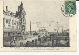 Ancien  Paris  La Tour De L'Horloge Et Le Pont Au Change   No 341 - Frankreich