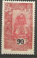 COTE DES SOMALIS YVERT  N� 115 NEUF** LUXE / MNH