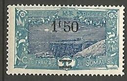 COTE DES SOMALIS YVERT  N� 118 NEUF** TTB / MNH