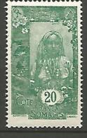 COTE DES SOMALIS YVERT  N� 123 NEUF** LUXE / MNH