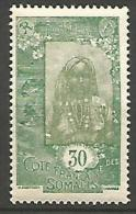 COTE DES SOMALIS YVERT  N� 126 NEUF** LUXE / MNH