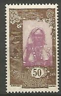 COTE DES SOMALIS YVERT  N� 127 NEUF** LUXE / MNH