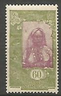 COTE DES SOMALIS YVERT  N� 128 NEUF** LUXE / MNH