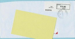 Blaster - 1457 WALHAIN-ST-PAUL Op Aanget. Zending - Vignettes D'affranchissement