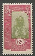 COTE DES SOMALIS YVERT  N� 129 NEUF** LUXE / MNH