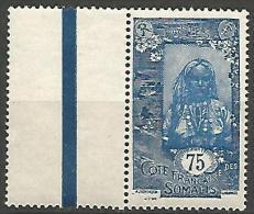 COTE DES SOMALIS YVERT  N� 130 NEUF** LUXE / MNH