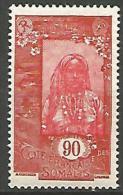 COTE DES SOMALIS YVERT  N� 133 NEUF** LUXE / MNH