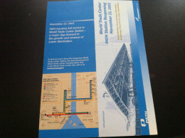 Transit Map New York - New Jersey, PATH - USA / Subway / Bus / Tram / U Bahn/ Métro / Tramway / Strassenbahn - World